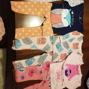 Four pack of Carter's Pjs